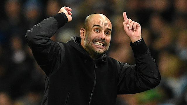 Pep Guardiola Manchester City Chelsea 231119