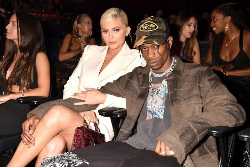 Travis Scott Tells Kylie Jenner 'Love You' After Denying Cheating