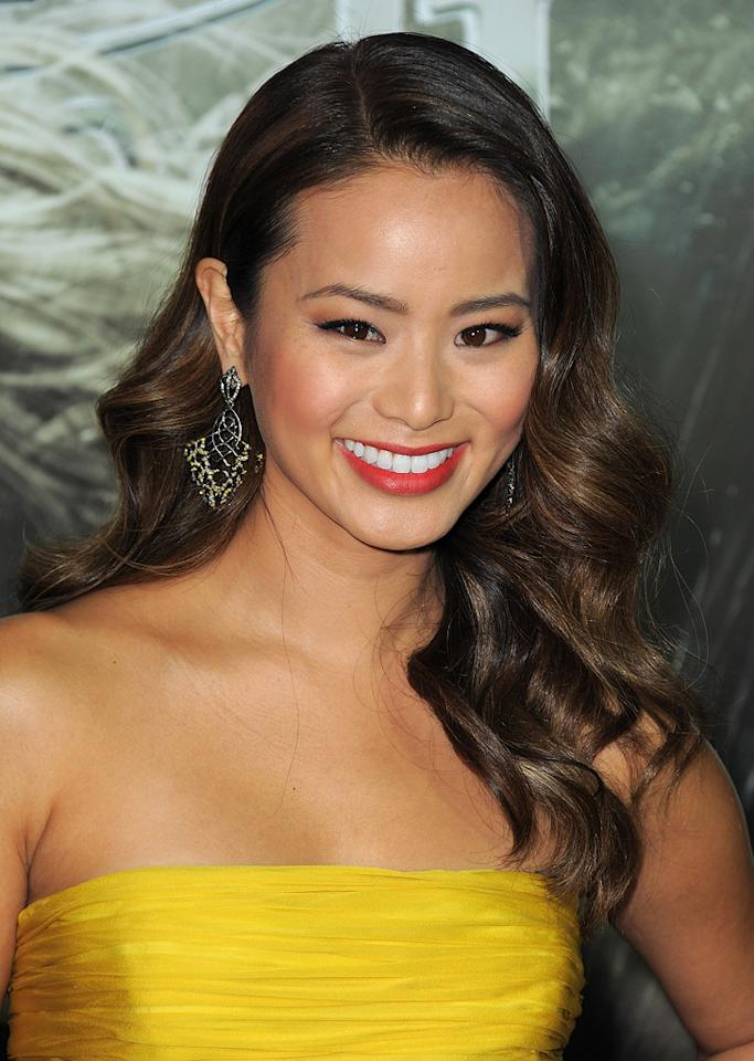 "<a href=""http://movies.yahoo.com/movie/contributor/1809766996"">Jamie Chung</a> at the Los Angeles premiere of <a href=""http://movies.yahoo.com/movie/1810133258/info"">Sucker Punch</a> on March 23, 2011."