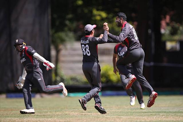 Zimbabwe lost a World Cup qualifying thriller by just three runs to the United Arab Emirates on Thursday, allowing Afghanistan and Ireland to clash in a winner-takes-all tie for a place in the 2019 finals.