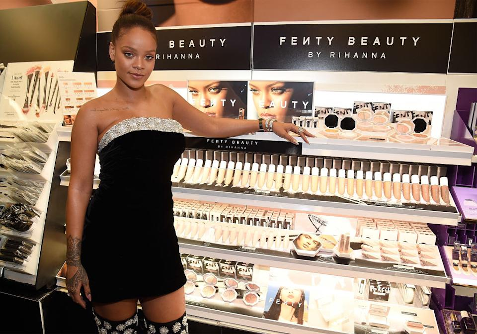 Photo by Kevin Mazur/Getty Images for Fenty Beauty
