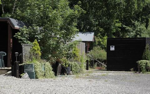 Picture shows some of the outbuildings on the £1m property in Essex - Credit: Champion News