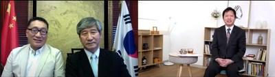 Mr. Kwok Yat Ming made a special video connection with Pastor Kim Chang Shi discussing the relationship between religion and politics in Korean society