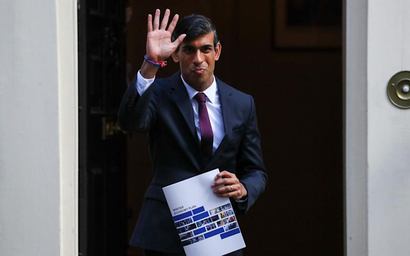 Chancellor Rishi Sunak unveils new wage subsidy to save jobs