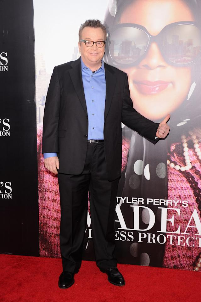 "NEW YORK, NY - JUNE 25:  Actor Tom Arnold attends ""Tyler Perry's Madea's Witness Protection"" New York Premiere at AMC Lincoln Square Theater on June 25, 2012 in New York City.  (Photo by Jamie McCarthy/Getty Images)"