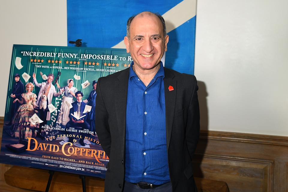 """Armando Iannucci attends """"The Personal History of David Copperfield"""" Screening on December 02, 2019. (Photo by Dave J Hogan/Getty Images)"""
