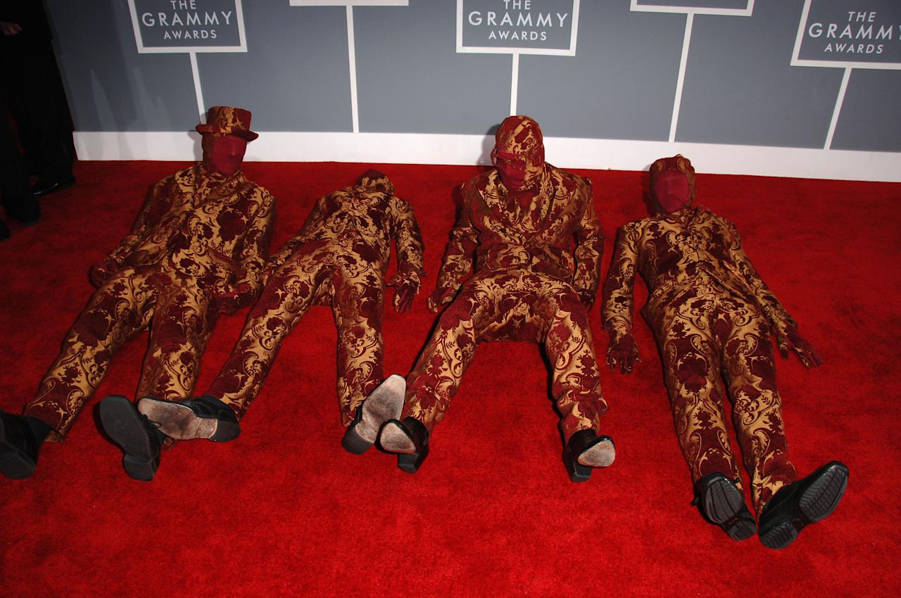 "OK Go, nominees Best Short Form Music Video for ""Here It Goes Again"" (Photo by Steve Granitz/WireImage)"