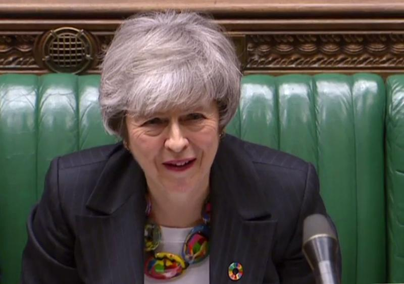 Under pressure on Brexit: Theresa May (AFP/Getty Images)
