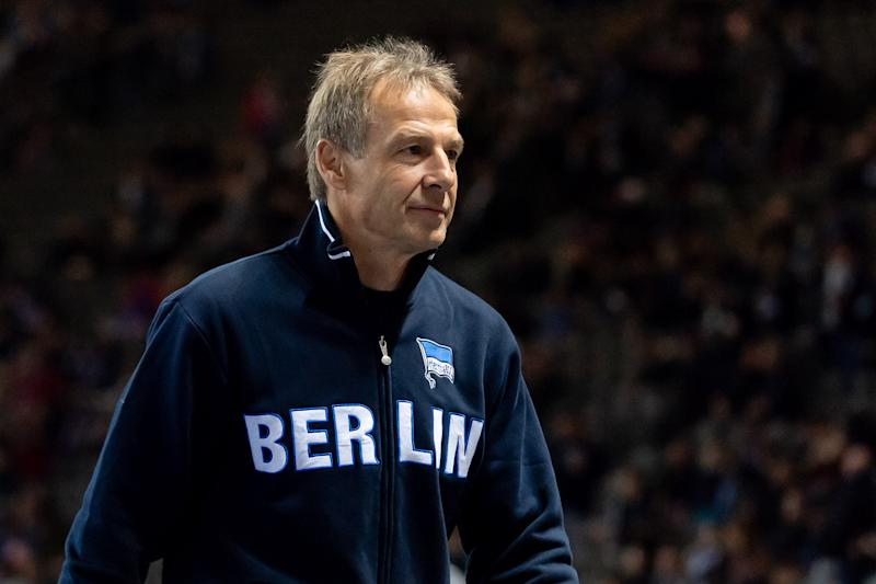 Jurgen Klinsmann resigned Tuesday as the manager of Hertha Berlin. (Getty)