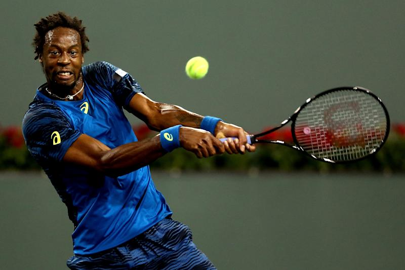 Tennis - Monfils in rehab for heel and knee injuries
