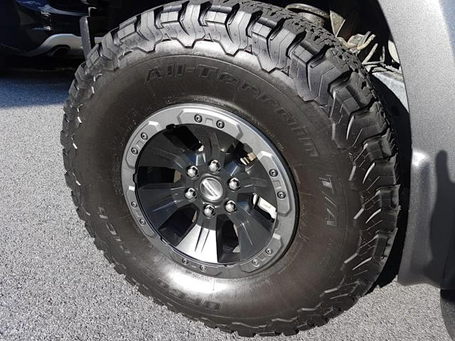 BFGoodrich All-Terrain T/A tire (Photo Credit – Pras Subramanian)