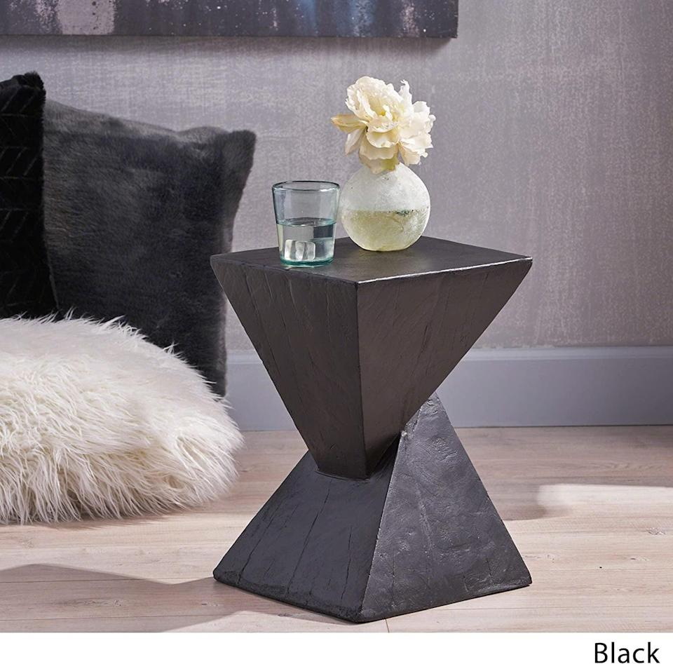 <p>This <span>Christopher Knight Home Jerod Accent Table</span> ($79) is a step above the rest, thanks to its sculptural look. It's modern, lightweight, and it'll have all your friends asking if you got it from a gallery.</p>