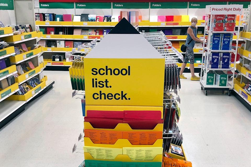 The coronavirus pandemic's effect has extended to the back-to-school shopping season, the second-most important period for retailers behind the holidays.