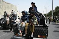 The Taliban have attempted to shut down women's protests, slapping rules on any form of assembly (AFP/Aamir QURESHI)