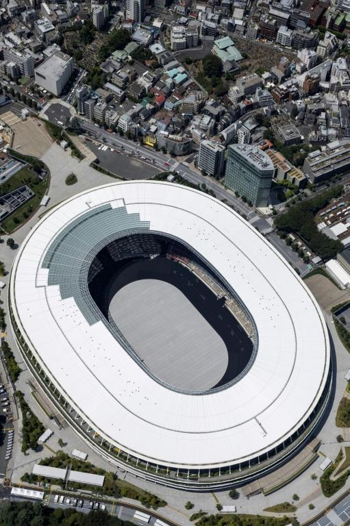 The Japan National Stadium will be largely empty during the Olympics