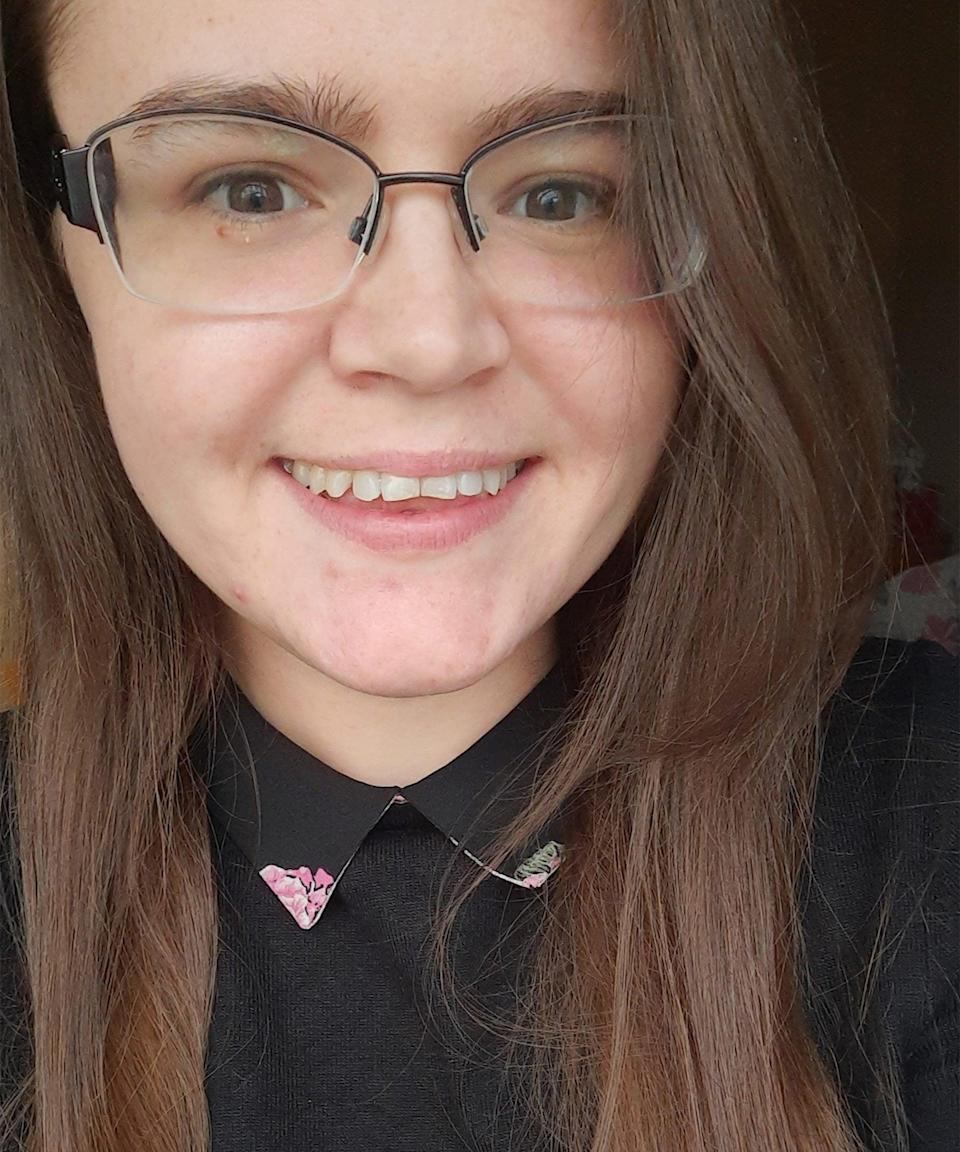 """<strong>Sophie Balfour </strong><br><br><em>Sophie Balfour, 25, is a volunteer Brownie leader and writes about health and law for <a href=""""https://talkaboutcommunity.com/"""" rel=""""nofollow noopener"""" target=""""_blank"""" data-ylk=""""slk:TalkAbout"""" class=""""link rapid-noclick-resp"""">TalkAbout</a>, an organisation dedicated to connecting young people and professionals. She is based in York and has multiple health conditions, with cystic fibrosis requiring her to shield. </em><br><br>Sophie's heard many hurtful opinions about shielders over the past year: that they've been """"locked up"""" and are """"contributing little societally"""". """"When people hear the word 'vulnerable', I don't think they think of people with medical conditions,"""" she says, adding that they definitely don't think about people under the age of 25. <br><br>Starting her role at TalkAbout has served as a good distraction. """"I think for me, the way I mostly got through it was just by focusing on the one day [at a time],"""" she says. Zoom meetings with friends and having something to look forward to once a week, coupled with TV, has also helped. <br><br>""""I miss my family,"""" she says, with Zoom calls often being too chaotic an alternative to seeing them in person. Not being able to see older relatives in particular has proved painful. Experiences like freely going to a café are also missed. <br><br>""""These are my mid 20s and I should be living my life. I should be going to see my friends get married, or go and see family, or go on holiday with my boyfriend or something,"""" she says. """"2020 was a rollercoaster.""""<br><br>What does Sophie hope for in the future? """"Just a better understanding,"""" she says. For now, she knows she will never get over people who have said her life is worth less and that makes returning to normality feel like a scary prospect."""