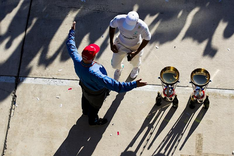 Hamilton recalls first meetings with Lauda