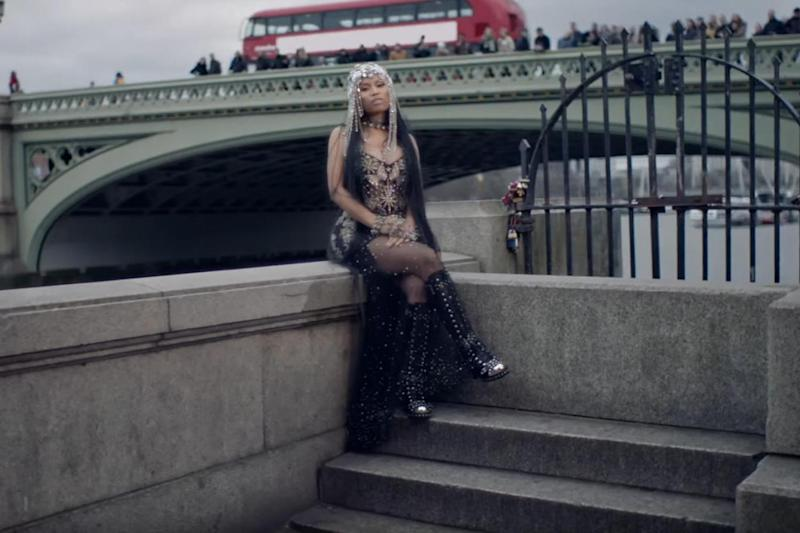 Criticised: Nicki Minaj left some people feeling uneasy