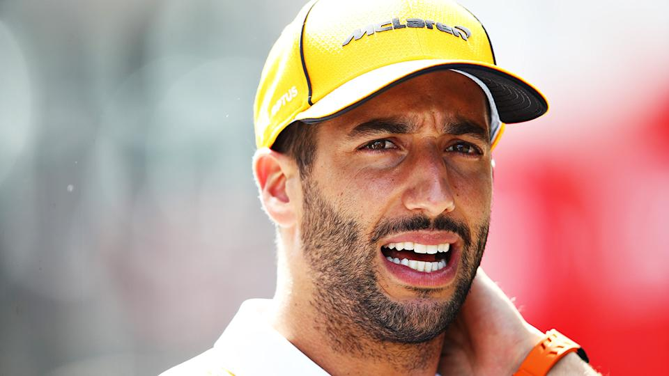 Daniel Ricciardo is fed up with fellow F1 drivers breaking a long-standing gentleman's agreement during qualifying sessions. (Photo by Mark Thompson/Getty Images)