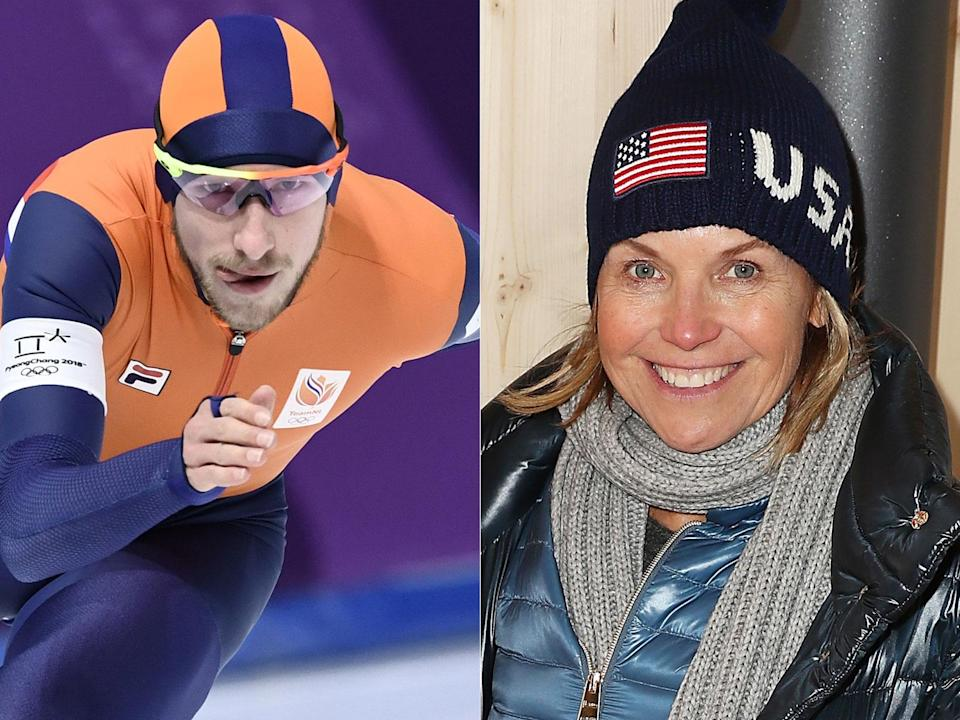 The Dutch didn't like Katie Couric's comments about speedskating (Getty Images)