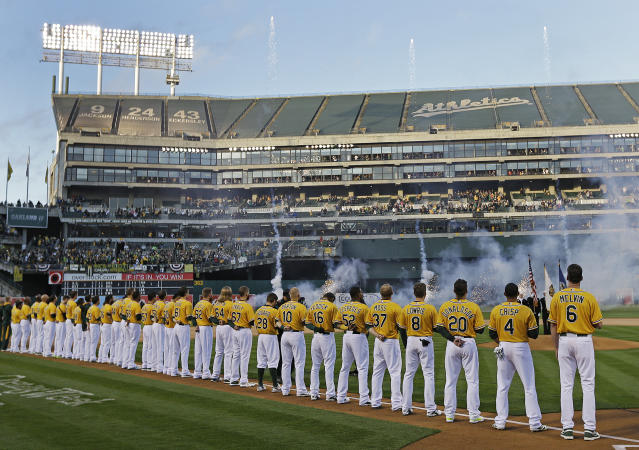 The Athletics front office is becoming more diverse. (AP Photo)