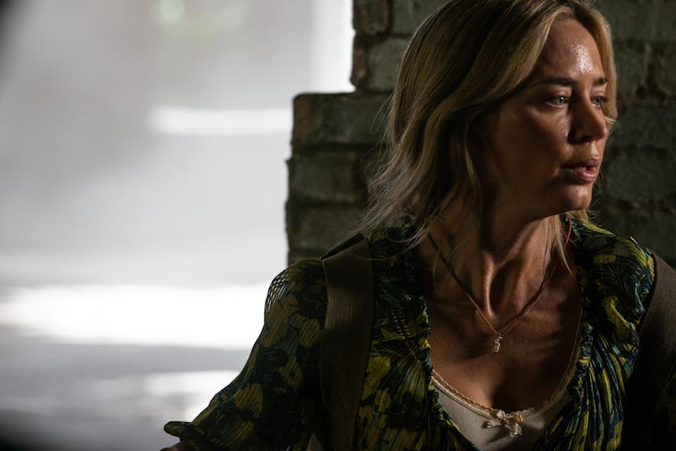 Evelyn (Emily Blunt) braves the unknown in A Quiet Place Part II. (PHOTO: United International Pictures)