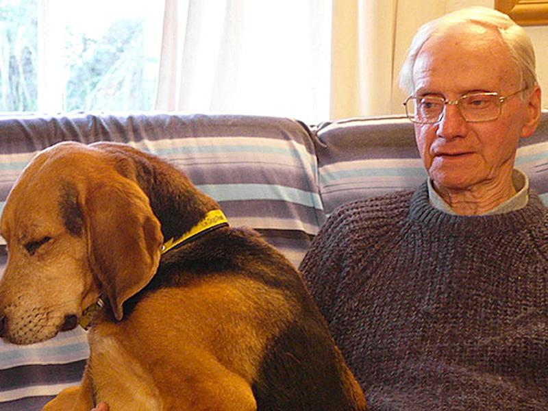 Peter Wrighton was fatally stabbed while walking his two dogs near the village of East Harling in Norfolk: PA