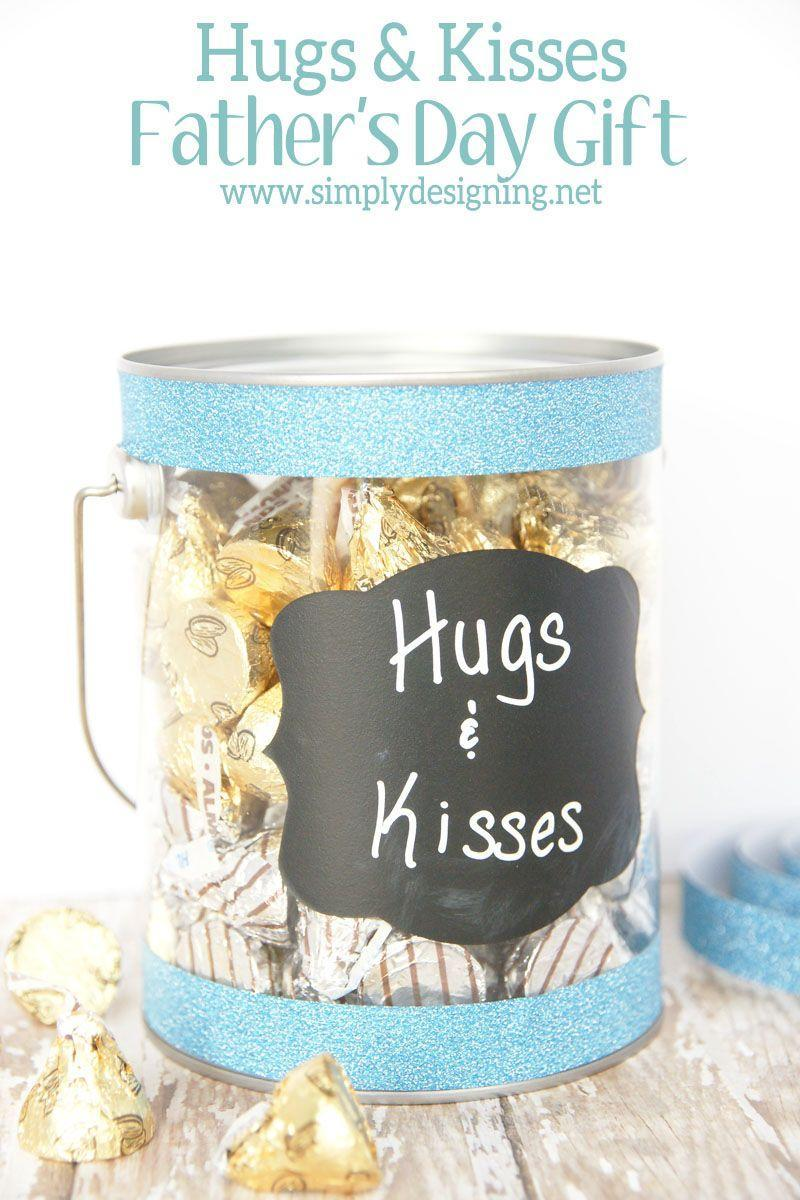 """<p>Make Father's Day extra sweet with this chocolate-filled container. </p><p><strong><em>Get the tutorial at <a href=""""https://simplydesigning.porch.com/hugs-and-kisses-simple-fathers-day-gift/"""" rel=""""nofollow noopener"""" target=""""_blank"""" data-ylk=""""slk:Simply Designing."""" class=""""link rapid-noclick-resp"""">Simply Designing.</a></em> </strong></p>"""