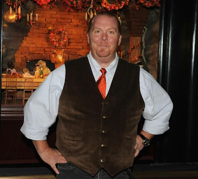 Chef Mario Batali at Bergdorf Goodman on November 10, 2009 in New York City