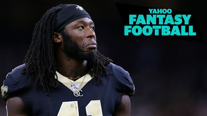 "Will <a class=""link rapid-noclick-resp"" href=""/nfl/players/30180/"" data-ylk=""slk:Alvin Kamara"">Alvin Kamara</a> bounce back this season? Will Run CMC and Lamar Jackson come back to the pack? Tune in for all your pressing questions about the top fantasy players around the league."