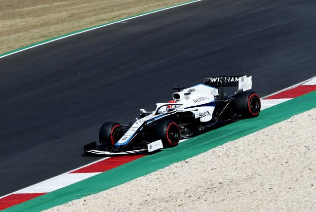George Russell again impressed for Williams