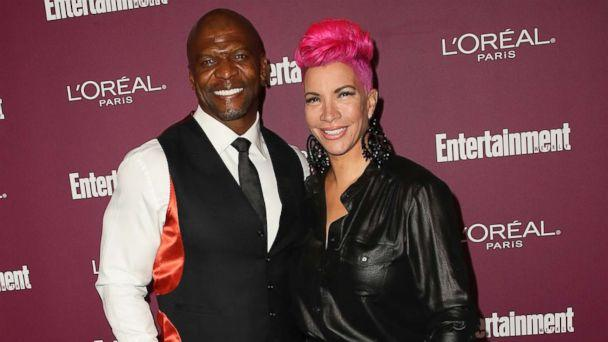 PHOTO: Terry Crews and his wife, Rebecca King-Crews, attend the Entertainment Weekly's 2017 Pre-Emmy Party at the Sunset Tower Hotel, Sept. 15, 2017, in West Hollywood, Calif. (David Livingston/Getty Images)