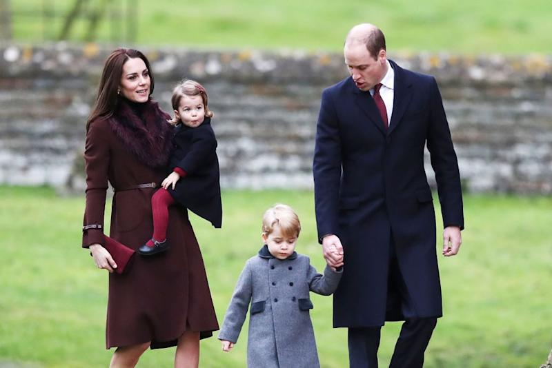 Kate Middleton, Princess Charlotte, Prince George and Prince William in 2016 | Andrew Matthews - WPA Pool/Getty