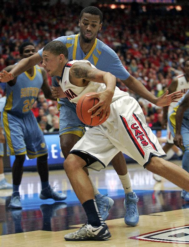 Top-ranked Wildcats beat Southern 69-43