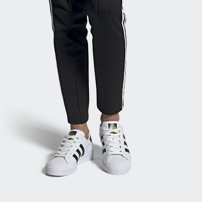 """Theseare a cult favorite for a reason — they're stylish, comfortable and reliable.<br /><br /><strong>Promising review:</strong>""""This shoe will never go out of style. I've been rocking the Superstar since I was a teenager in the '80s, and I haven't gotten tired of it yet. I wear all brands and types of sneakers, but the Superstar will always be my first true love. Now true you have to find your perfect size, but it's worth the effort. My regular shoe size varies between 8.5 and 9, but I wear an 8 in the Superstar. No slipping on the heel, my toes are comfortable, and the width is perfect. This shoe is just sneaker chic."""" — amitchell<br /><br /><strong>Get them from Adidas for<a href=""""https://go.skimresources.com?id=38395X987171&xs=1&url=https%3A%2F%2Fwww.adidas.com%2Fus%2Fsuperstar-shoes%2FFV3284.html&xcust=HPSplurgeWorthy60771eb6e4b01654bb7978a0"""" target=""""_blank"""" rel=""""nofollow noopener noreferrer"""" data-skimlinks-tracking=""""5753950"""" data-vars-affiliate=""""adidas.njih.net"""" data-vars-asin=""""none"""" data-vars-campaign=""""-SplurgeWorthyShoesKass9-11-20-5705703"""" data-vars-href=""""https://champssports.4xc4ep.net/c/468058/764042/11069?subId1=-SplurgeWorthyBasicsKass10-29-20-5753950&u=https%3A%2F%2Fwww.champssports.com%2Fproduct%2Fmodel%2Fadidas-originals-superstar-womens%2F236472.html"""" data-vars-keywords=""""fast fashion"""" data-vars-link-id=""""15975129"""" data-vars-price="""""""" data-vars-product-id=""""1"""" data-vars-product-img=""""none"""" data-vars-product-title=""""Placeholder- no product"""" data-vars-redirecturl=""""https://www.adidas.com/us/superstar-shoes/FV3284.html"""" data-vars-retailers="""""""" data-ml-dynamic=""""true"""" data-ml-dynamic-type=""""sl"""" data-orig-url=""""https://champssports.4xc4ep.net/c/468058/764042/11069?subId1=-SplurgeWorthyBasicsKass10-29-20-5753950&u=https%3A%2F%2Fwww.champssports.com%2Fproduct%2Fmodel%2Fadidas-originals-superstar-womens%2F236472.html"""" data-ml-id=""""39"""">$85</a>(available in sizes 5-11 and in 20 colors).</strong>"""