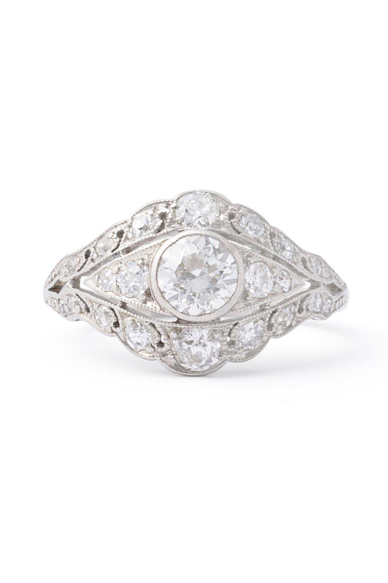 "<p><em><strong>Fox & Bond</strong> Edwardian ""Eye"" Old European Cut Diamond and Platinum Ring, circa 1910-1915, $3,865, <a href=""https://foxandbond.com/collections/engagement-rings/products/edwardian-eye-old-european-cut-diamond-and-platinum-ring"" rel=""nofollow noopener"" target=""_blank"" data-ylk=""slk:foxandbond.com"" class=""link rapid-noclick-resp"">foxandbond.com</a></em></p><p><a class=""link rapid-noclick-resp"" href=""https://foxandbond.com/collections/engagement-rings/products/edwardian-eye-old-european-cut-diamond-and-platinum-ring"" rel=""nofollow noopener"" target=""_blank"" data-ylk=""slk:SHOP"">SHOP</a></p>"