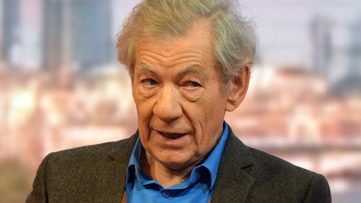 Sir Ian McKellen is currently rehearsing for his latest stage role as Hamlet