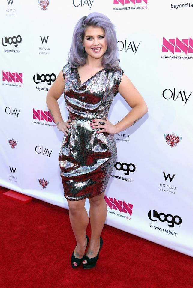 Kelly Osbourne arrives at LOGO's NewNowNext Awards at Avalon on April 5, 2012 in Hollywood, California.