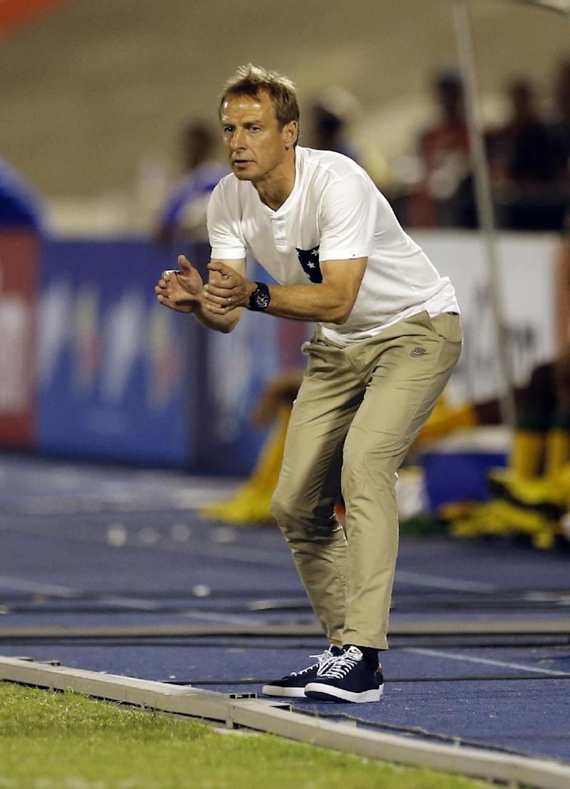 Klinsmann: US defense still 'work in progress'