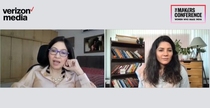 Nivruti Rai (Intel) in conversation with YourStory founder Shraddha Sharma