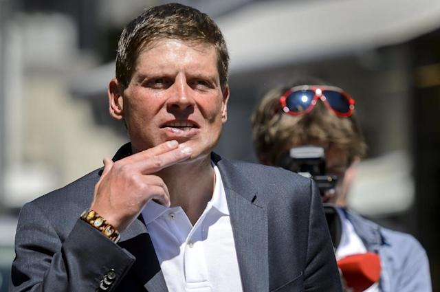 Germany's former cycling star Jan Ullrich is facing a fresh assault allegation over an incident at Hamburg airport on Tuesday. (AFP Photo/FABRICE COFFRINI)