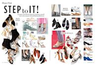 <br><b>HAPPY FEET:</b> All the sandals, sneakers and stilettos your closet could dream of
