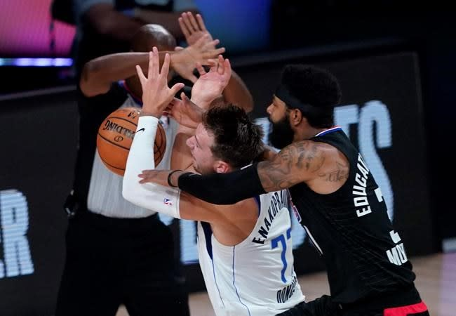 Clippers' Morris, Mavs' Doncic fined for actions in Game 6