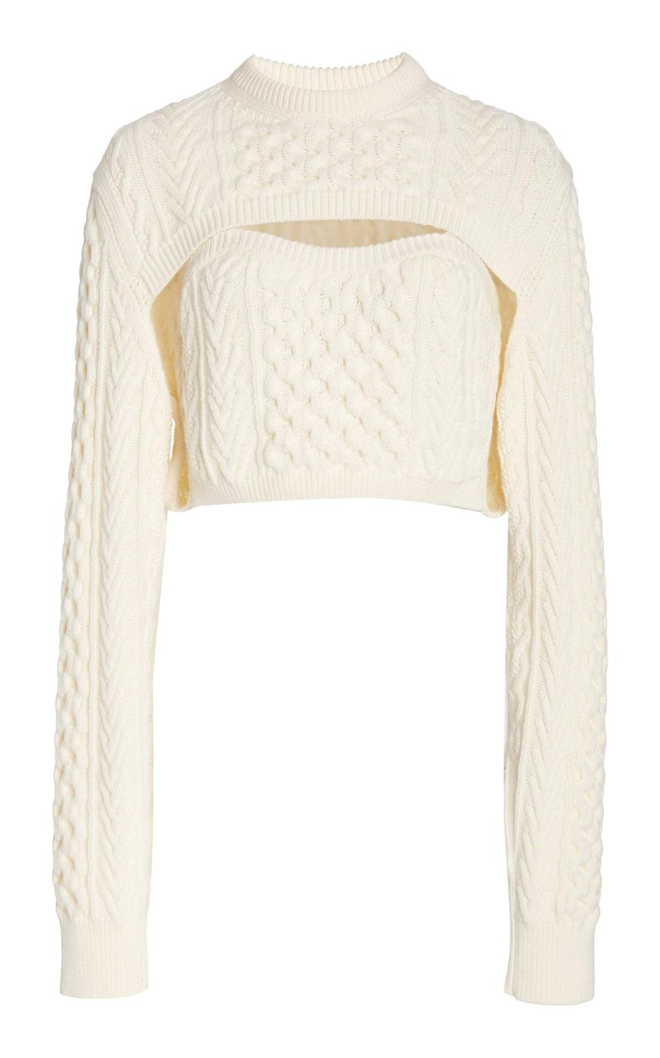 "<p>""This <span>Rosie Assoulin Thousand-in-One-Ways Wool-Cotton Sweater</span> ($750) is currently at the top of my wish list. It can be worn so many ways, I'd reach for it every single day and find a new way to style it."" - IY</p>"