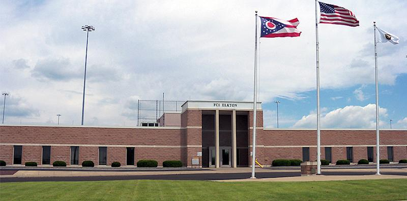 Elkton Federal Correctional Institution in Lisbon, Ohio. (Federal Bureau of Prisons)