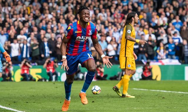 Wilfried Zaha's double clinches huge derby triumph for Crystal Palace
