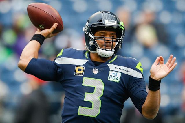 Russell Wilson definitely helped a few teams secure — or solidify — their place in the fantasy playoffs. (Photo by Otto Greule Jr/Getty Images)
