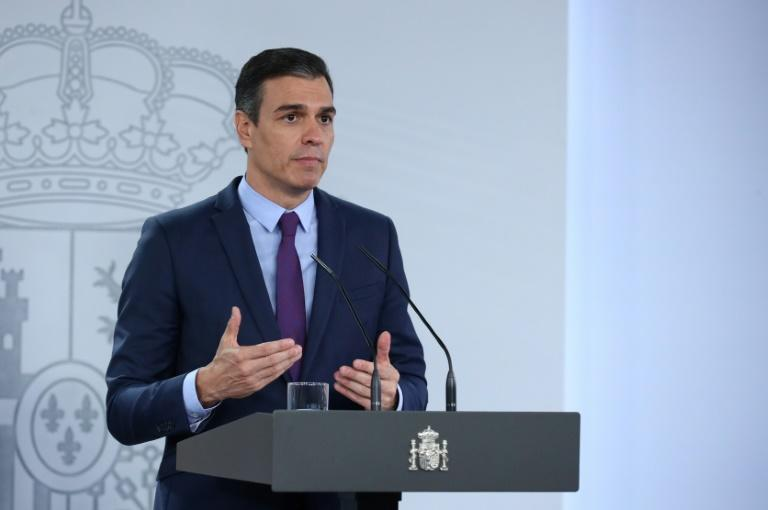 Spanish Prime Minister Pedro Sanchez has pledged to guarantee a basic income for those left adrift by the health crisis -- but only a small minority of cases have been processed to date