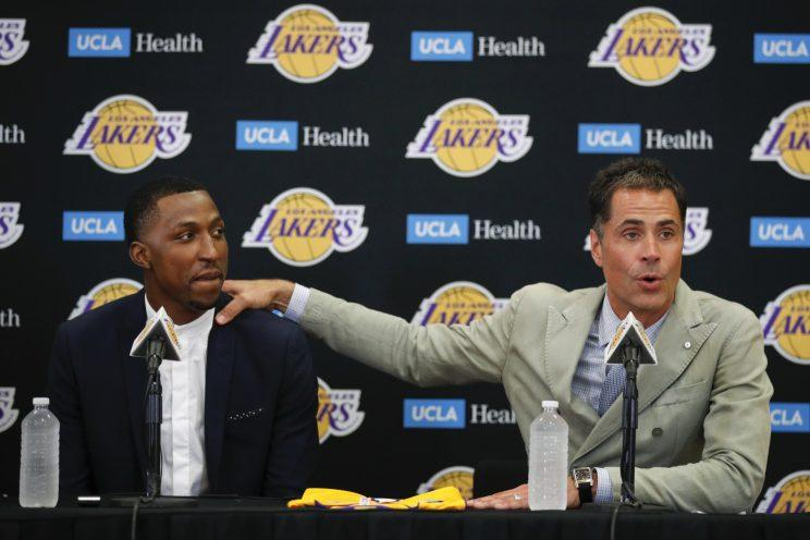 'And so, thanks to this shooting guard, I now know that the Lord is my God.' (AP)