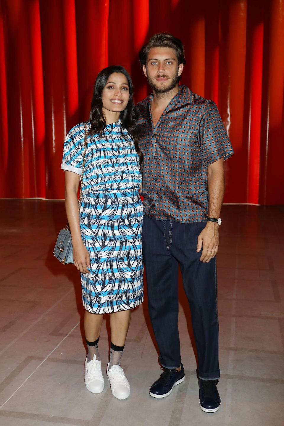 "<p>The <a href=""https://people.com/movies/freida-pinto-is-engaged-to-photographer-cory-tran/"" class=""link rapid-noclick-resp"" rel=""nofollow noopener"" target=""_blank"" data-ylk=""slk:Slumdog Millionaire star and her boyfriend Cory are tying the knot""><strong>Slumdog Millionaire</strong> star and her boyfriend Cory are tying the knot</a> after dating for about two years. On Nov. 21, 2019, Freida <a href=""https://www.instagram.com/p/B5IjQTTg8Z8/?utm_source=ig_web_copy_link"" class=""link rapid-noclick-resp"" rel=""nofollow noopener"" target=""_blank"" data-ylk=""slk:shared the exciting news on Instagram"">shared the exciting news on Instagram</a>, writing, ""You my love are just the most beautiful creation to have ever walked into my life. And you are here to stay. Well, I am making you stay. Ha!""</p>"